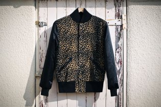 B-Side by Wale Custom Cheetah Varsity Jacket