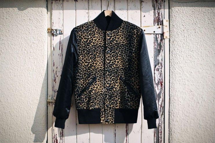 B-Side by Wale Custom Cheetah Varsity Jacket