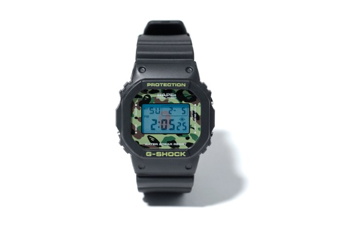 A Bathing Ape x Casio 1ST CAMO G-Shock