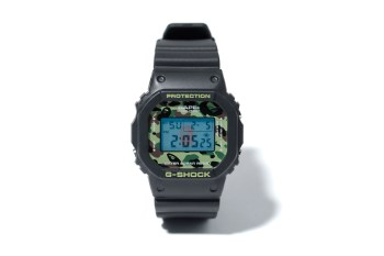 A Bathing Ape x Casio 1ST CAMO G-Shock