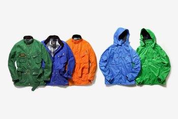 Barbour 2012 Spring/Summer Color Reborn International Jacket Collection
