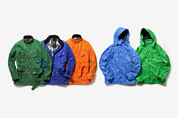 Barbour 2012 Spring/Summer Color Reborn International Jacket Collection