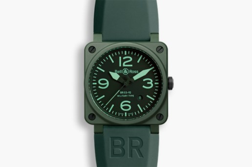 Bell & Ross BR0392 Ceramic Military Watch