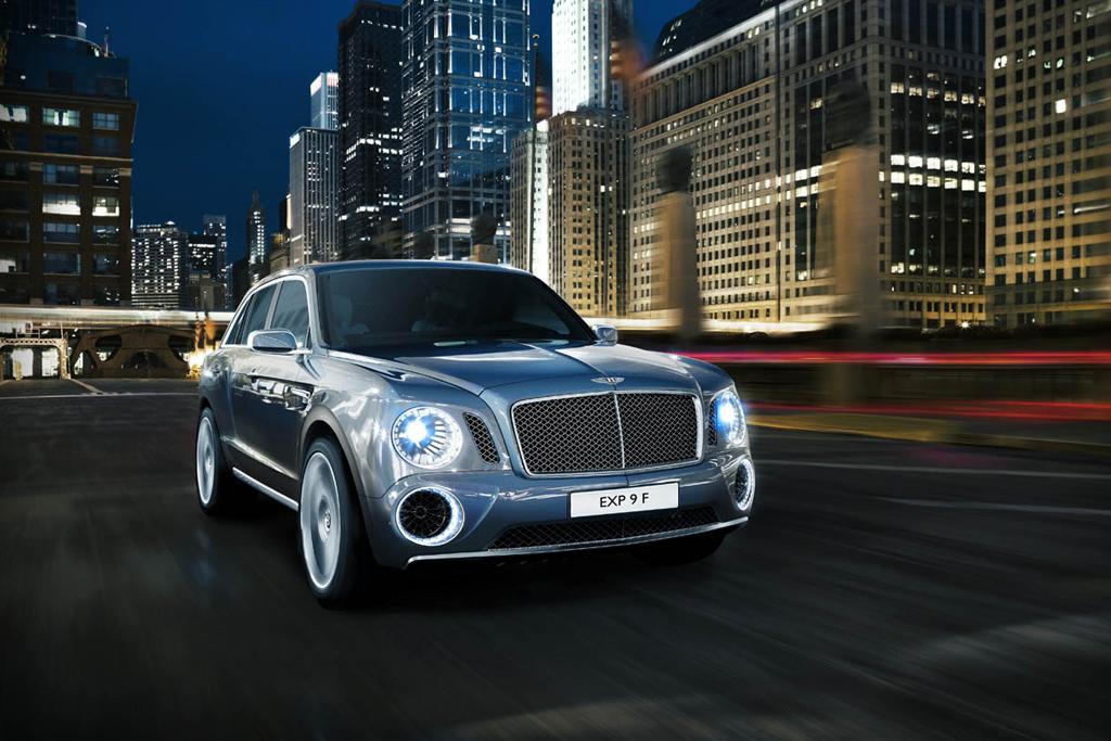 Bentley EXP 9 F Concept SUV