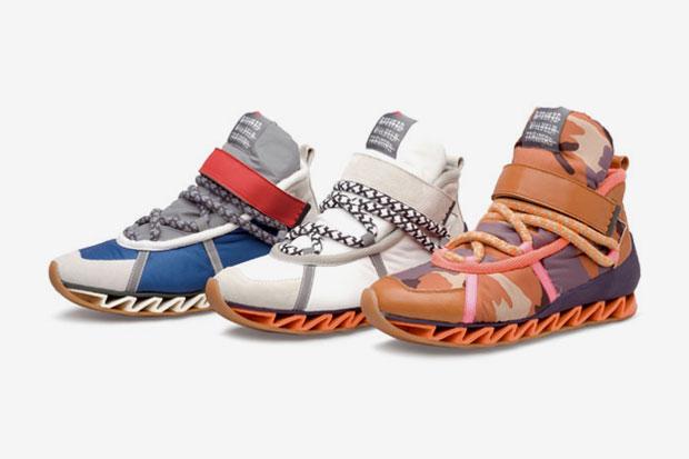 bernhard willhelm x camper 2012 spring summer hiking boots