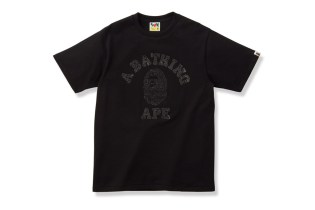 BLACK SENSE MARKET x A Bathing Ape Swarovski Logo T-Shirt