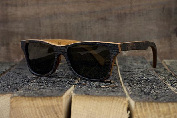 """Bodega x Shwood """"The Bushmills"""" Sunglasses"""
