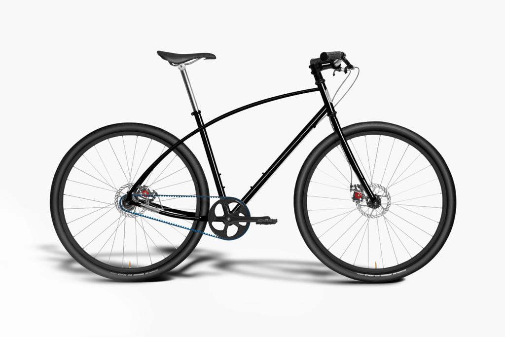 Budnitz Bicycles Model No.3 in Black Cro-Moly Steel