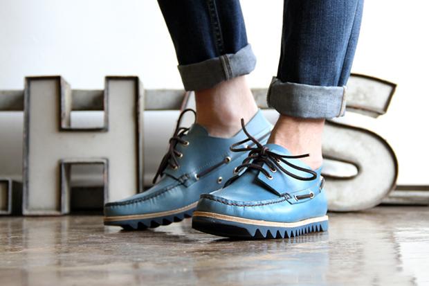 Buttero Ripple Sole Boat Shoes