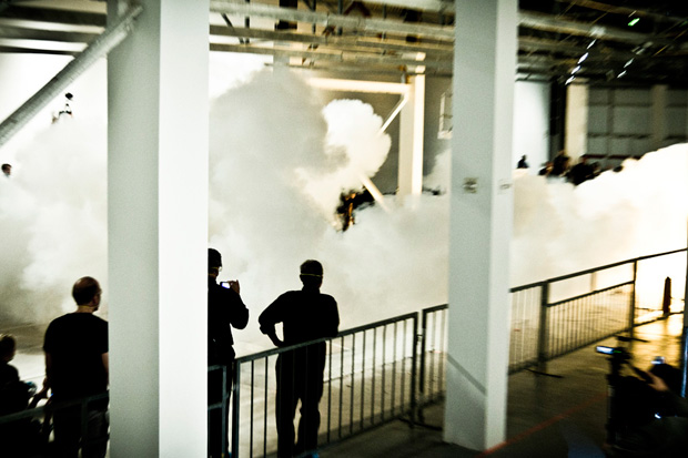 """Cai Guo-Qiang """"Sky Ladder"""" Exhibition @ MOCA Preview"""