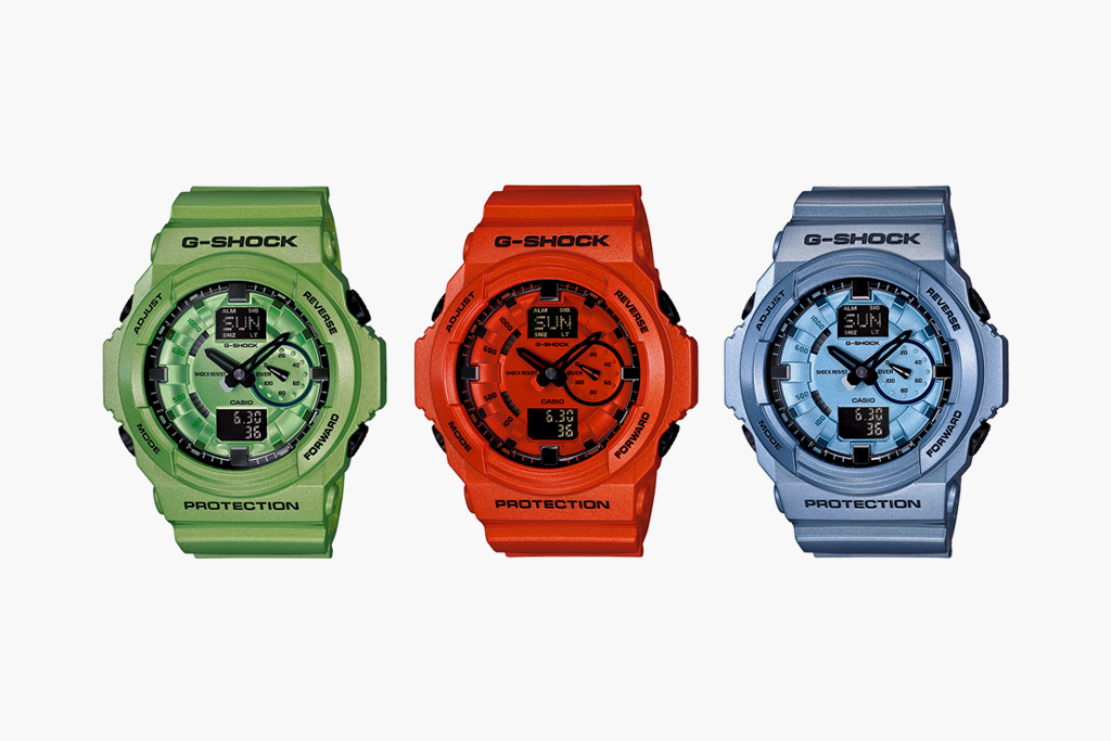casio g shock 2012 spring summer ga 150a collection
