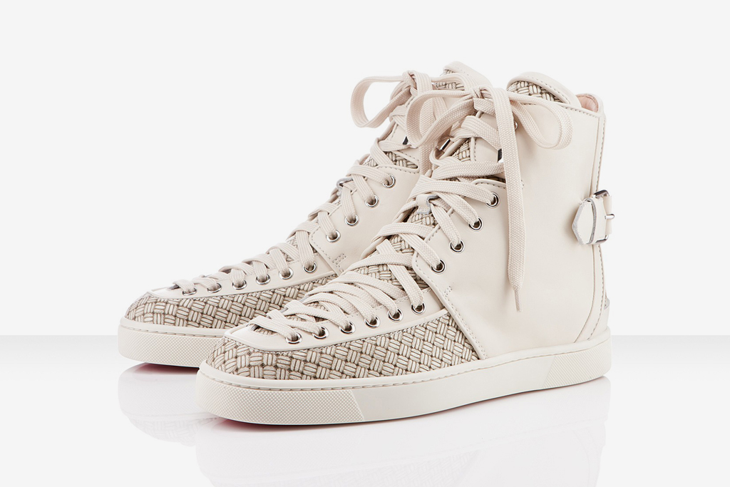 christian louboutin 2012 spring summer alfie flat ivory