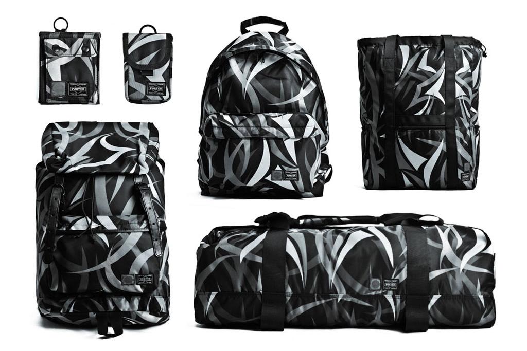 CLOT x Head Porter 2012 Alienegra Camo Bag Collection