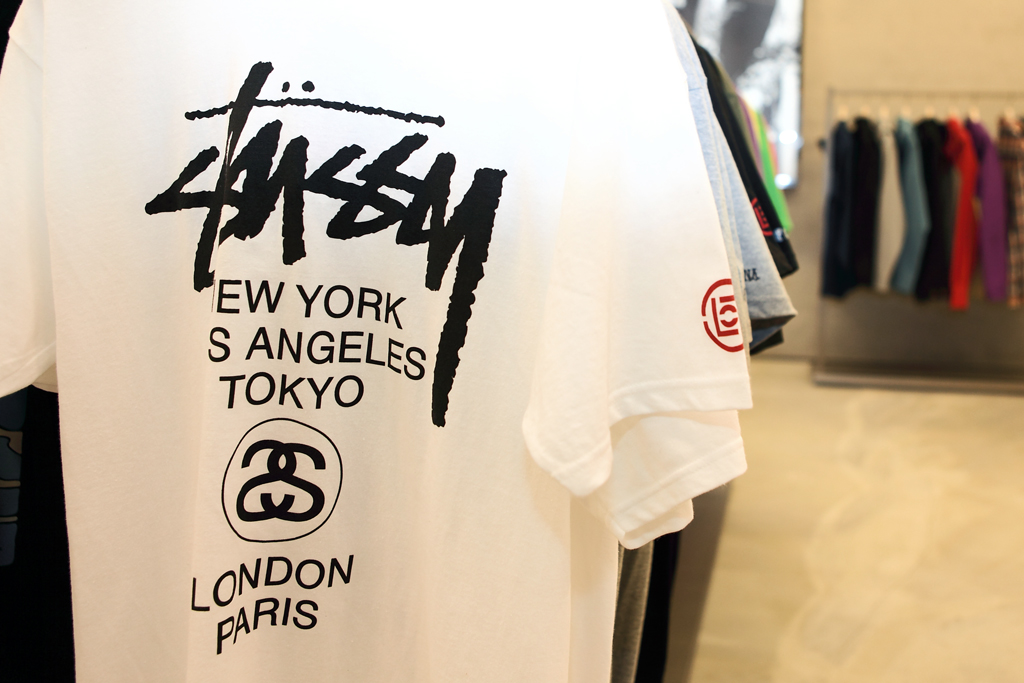 clot x stussy taiwan pop up store opening