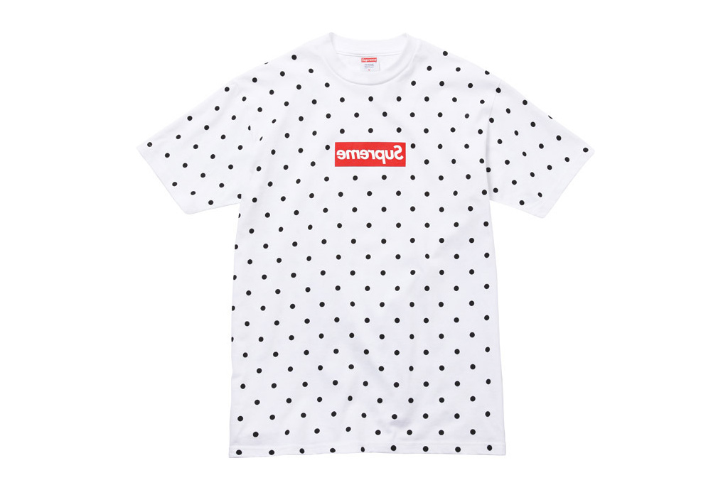 comme des garcons shirt x supreme 2012 capsule collection