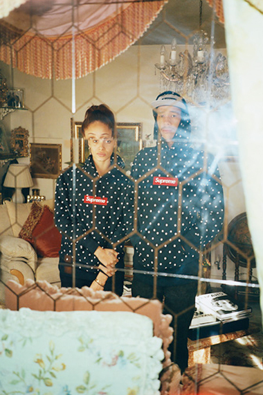 comme des garcons shirt x supreme 2012 capsule collection lookbook