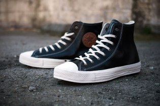 Converse 2012 Spring Chuck Taylor Premium Black Leather
