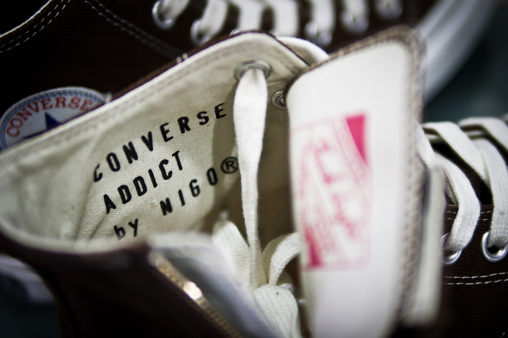 converse addict by nigo a closer look