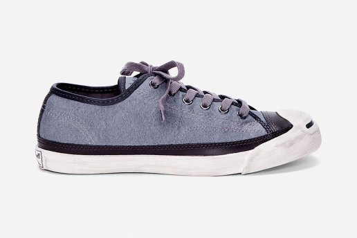 Converse John Varvatos Charcoal Jack Purcell Sneakers