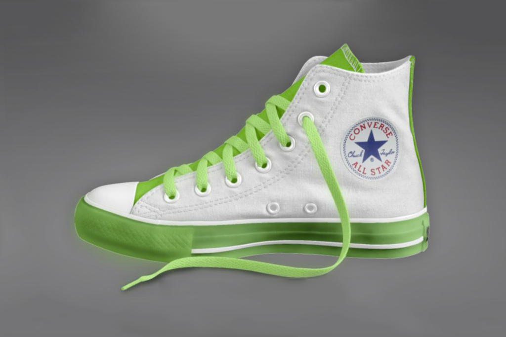converse glow in the dark chuck taylor all star