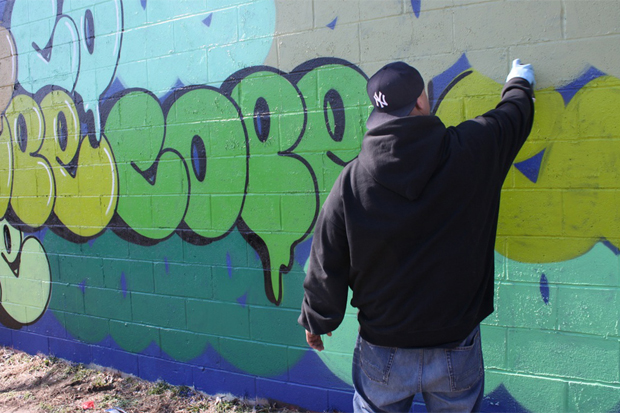 COPE2 x RETNA Bronx Collaboration
