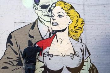 Corey Helford Gallery x D*Face @ SCOPE New York