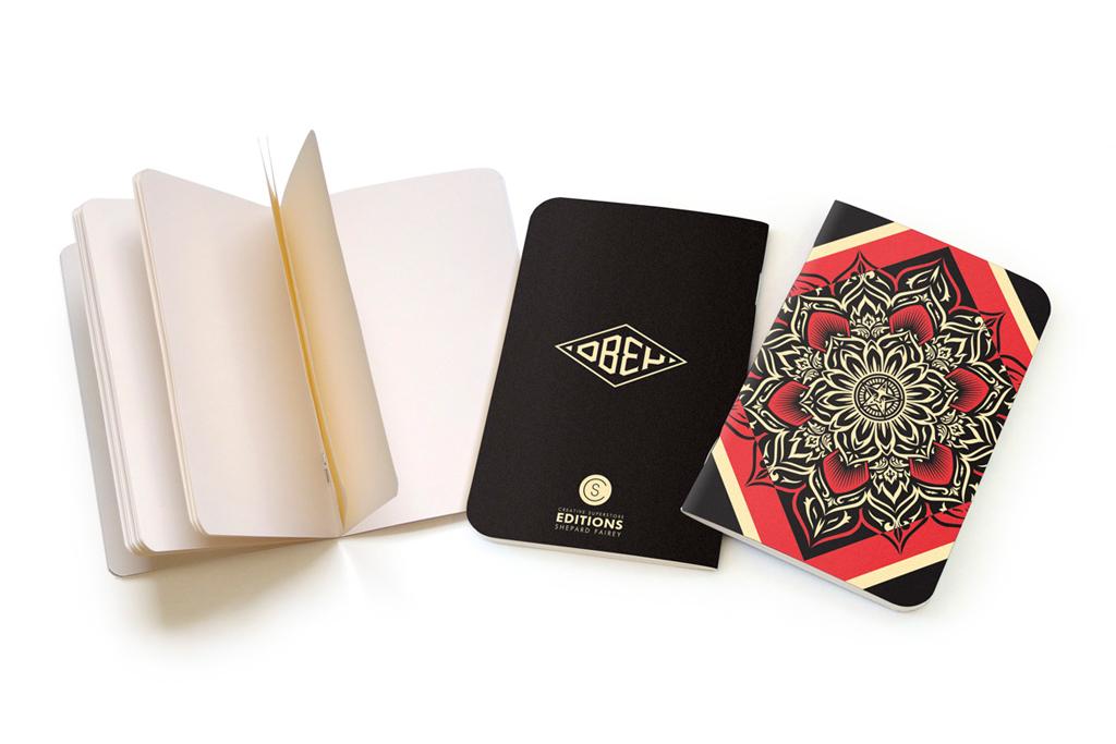 CS Editions Notebooks By Shepard Fairey & Parra