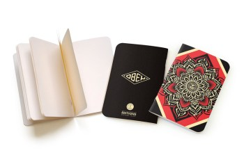 CS Editions Notebooks By Shepard Fairey & Parra
