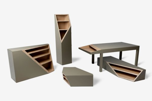 CUTLINE Furniture by SMOOTH PLANE