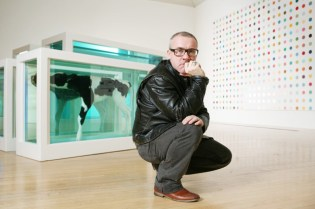 Damien Hirst to Open Gallery