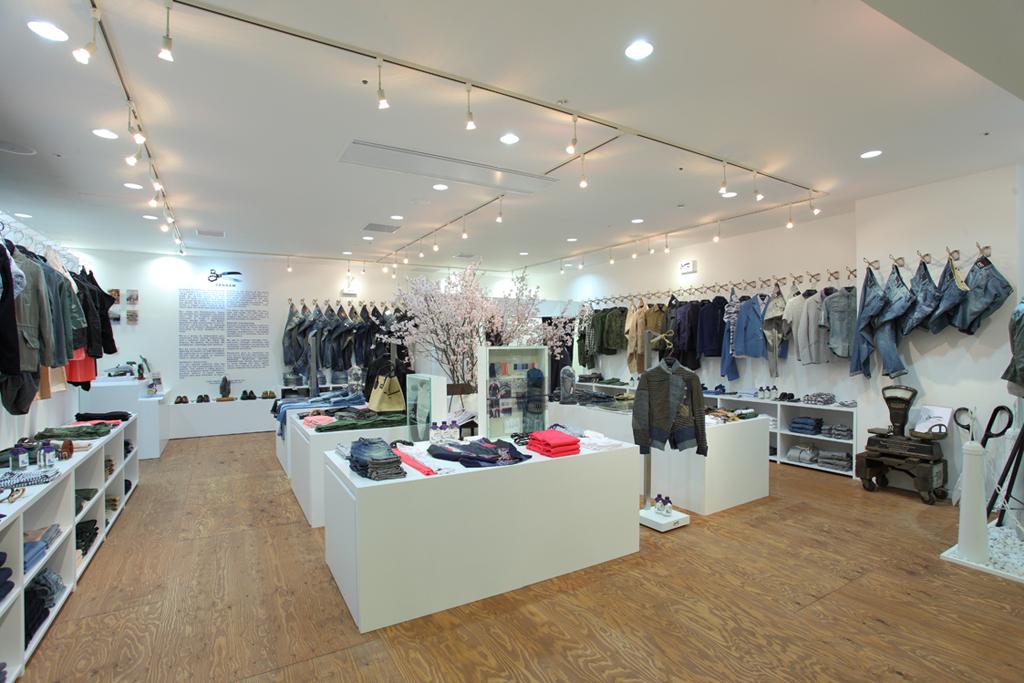 Denham Store Opening @ Namba Parks Osaka