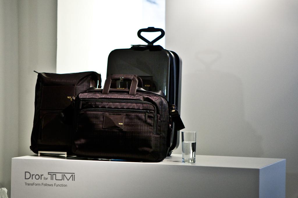 Dror Benshetrit for Tumi 2012 Collection