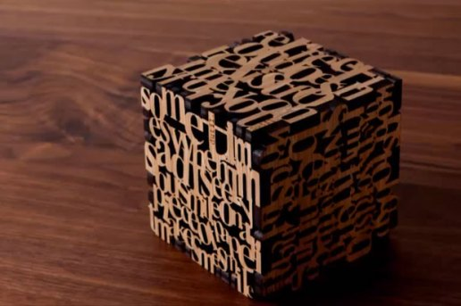 """dutil. """"Cube"""" Stop Motion Video"""