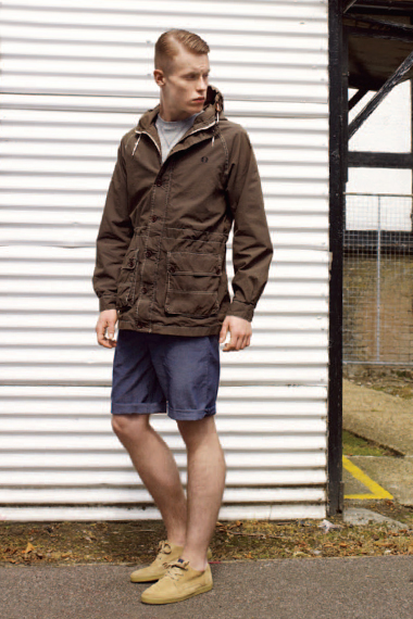 fred perry authentic 2012 spring summer track and field collection