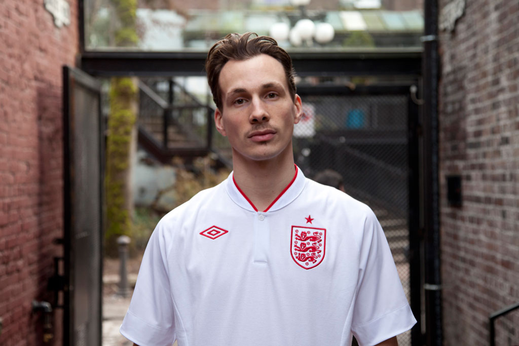 Gastown FC: 2012 Umbro England Kit
