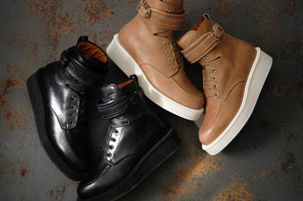 Givenchy by Riccardo Tisci 2012 Spring Leather Boots