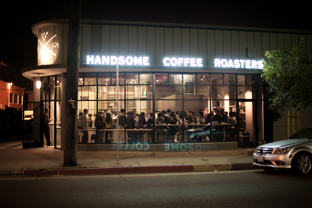 handsome coffee roasters l a flagship coffee bar