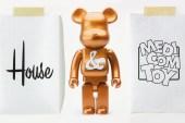 House Industries x Medicom Toy Bearbrick Anniversary Logo Design Video
