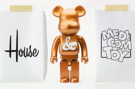 House Industries x Medicom Toy Bearbrick Anniversary Logo Design Video