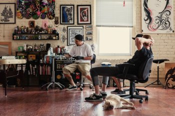 HYPEBEAST Spaces: Lucky Olelo's Tattoo Studio