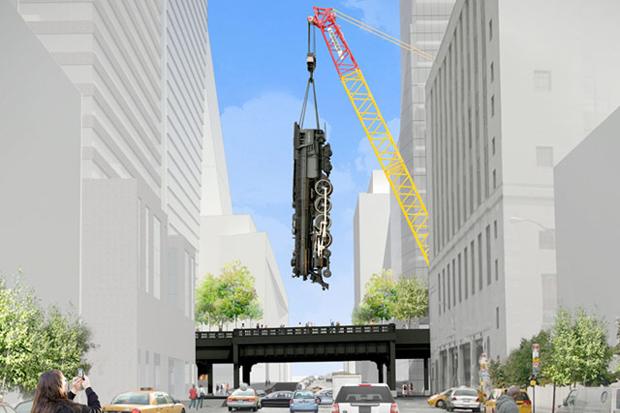 Jeff Koons' $25 Million Locomotive a Reality?