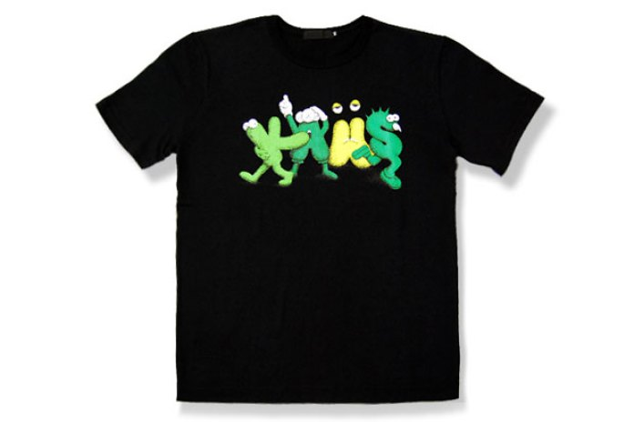 OriginalFake KAWS NEW TEXT 2 T-Shirt