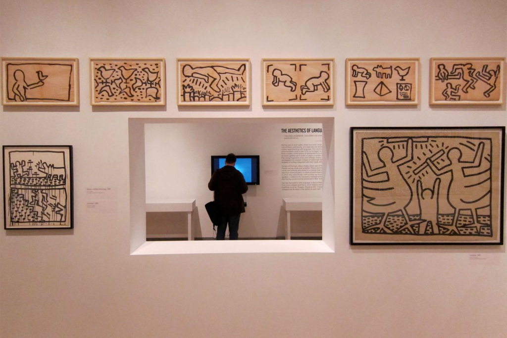"""Keith Haring: 1978-1982"" Exhibition @ Brooklyn Museum"