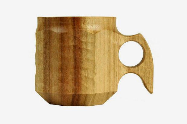 kikisa coffee cup by jin akihiro woodworks