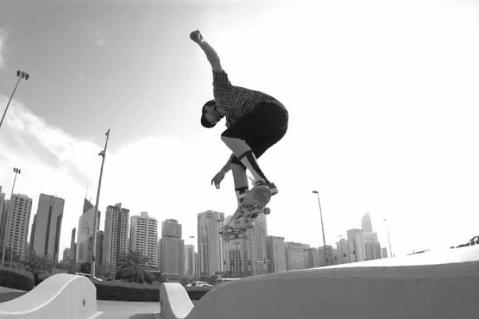 Krooked Skateboarding x Matix present Mike Anderson