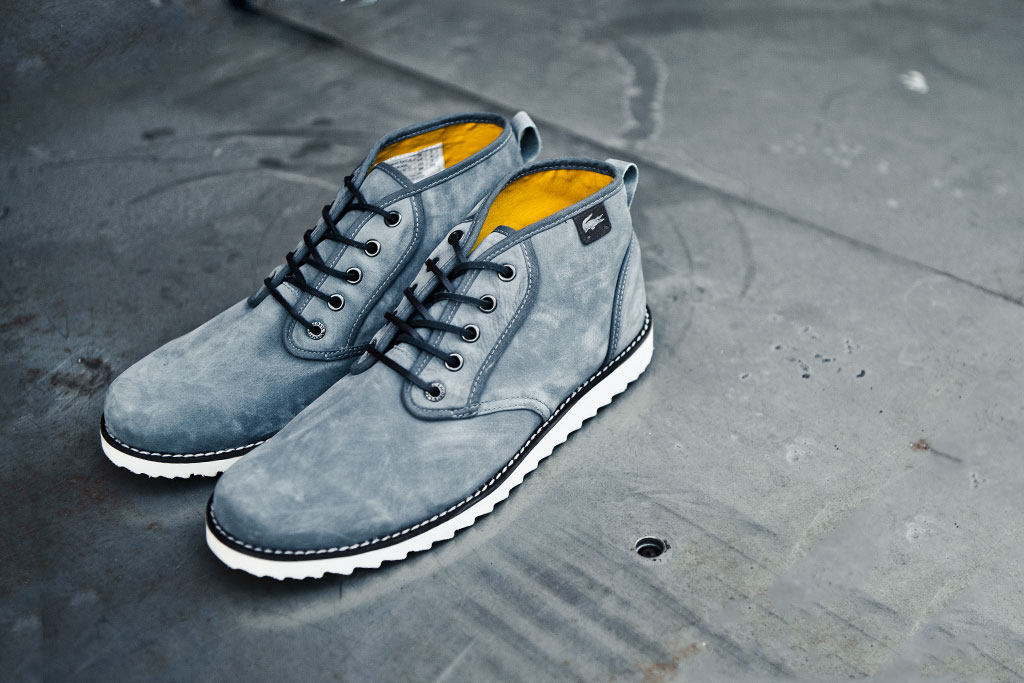 lacoste l e d thurman ripple grey