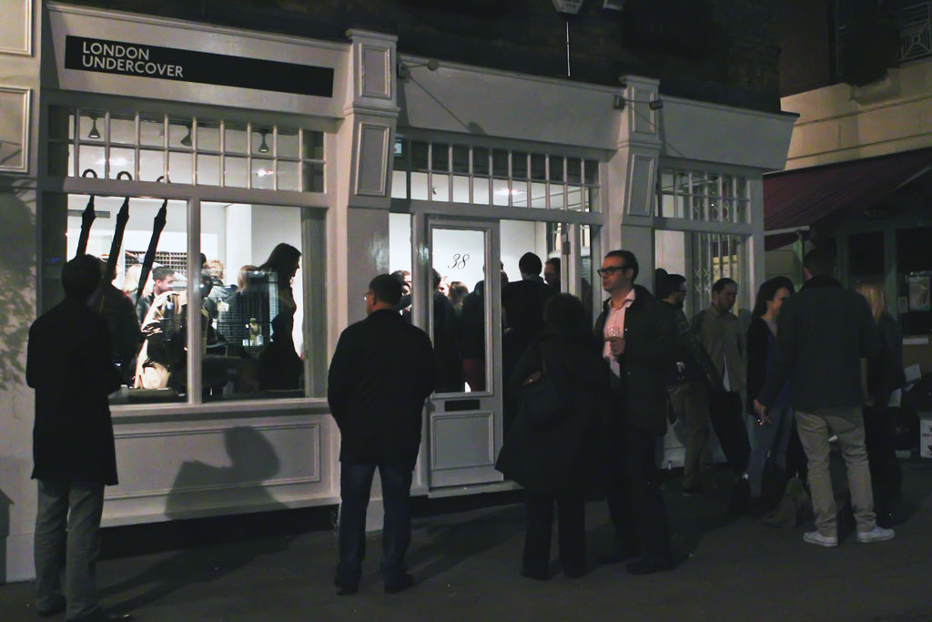 london undercover 2012 pop up store launch