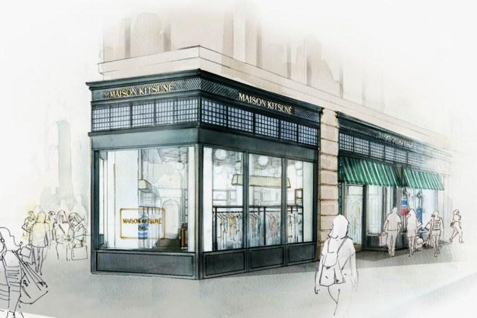 Maison Kitsune New York Preview