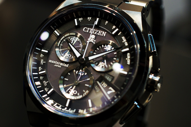 mastermind japan x citizen alterna chronograph watch preview