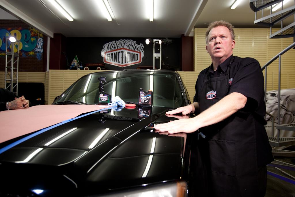 mister cartoon sanctiond car care event recap